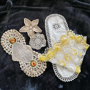 Other - Vintage lace dollies